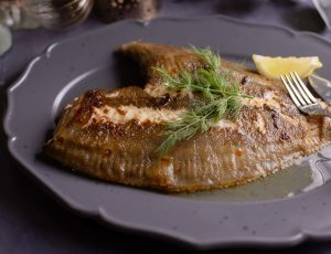 Oven Roasted Fish with a Maple Glaze